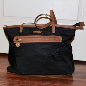 Michael Kors brown shoulder tote